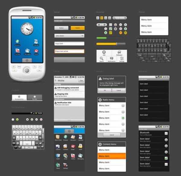 android studio templates