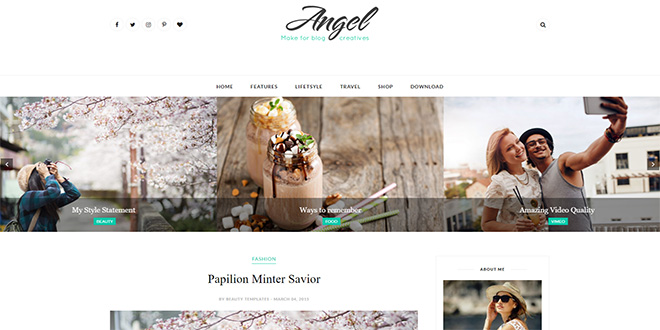 Fashion Blogger Templates 2018 - fashion blogger templates