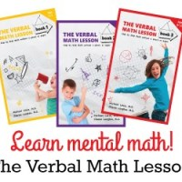 Learn Mental Math - Enter to WIN The Verbal Math Lesson Set Ends 9/19