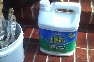 Krud Kutter-Really good for cleaning brushes