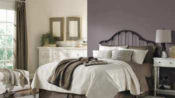 Exclusive Plum Is An Intimate and Romantic Color Perfect for the Bedroom