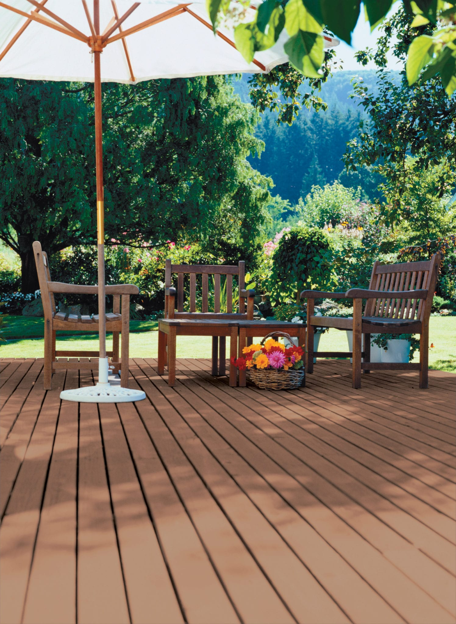 Waterborne Stain Superdeck Log Home And Deck Stain
