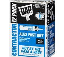 DAP ALEX FAST DRY Acrylic Latex Caulk Plus Silicone