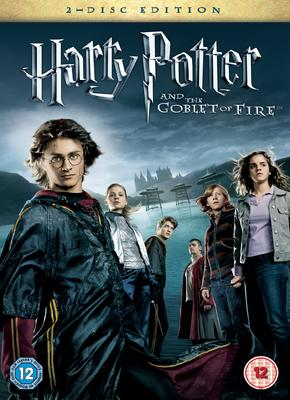 DVD Harry Potter y el Caliz de Fuego