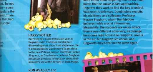 Nueva fotografía de Harry Potter y el Misterio del Príncipe