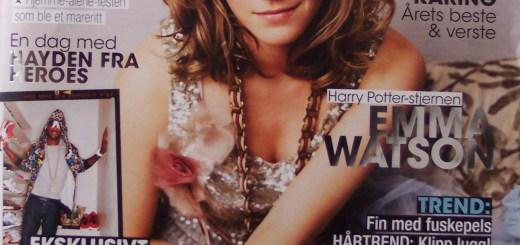 BlogHogwarts - Emma Watson en la Revista 'Topp' - 01