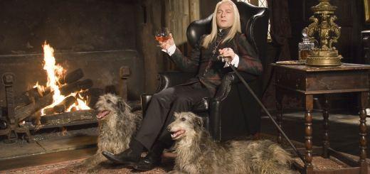 Lucius Malfoy en su Mansión