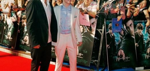 Daniel Radcliffe y David Heyman