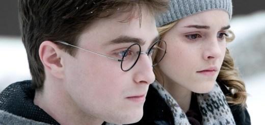 Harry y Hermione en HP6