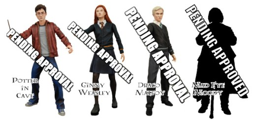 Bocetos de Figuras de HP6 por NECA