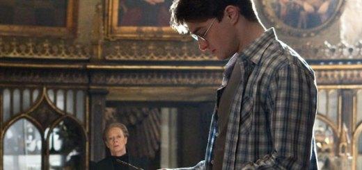 McGonagall y Harry Potter