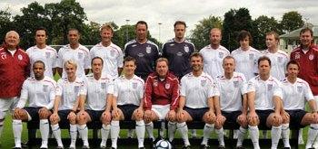 Tom Felton en el Equipo de Inglaterra