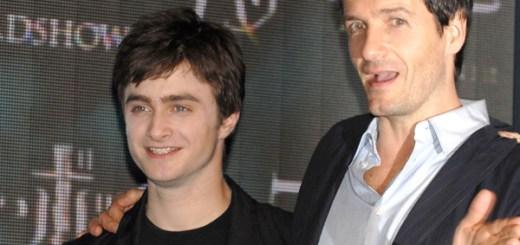 Daniel Radcliffe and David Heyman, producer