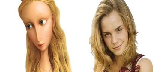 Princesa Pea y Emma Watson