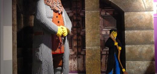 Harry Potter y Rubeus Hagrid en LEGOLAND