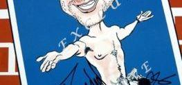 Caricatura de Daniel Radcliffe Autografiada