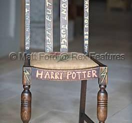 La Silla de JK Rowling