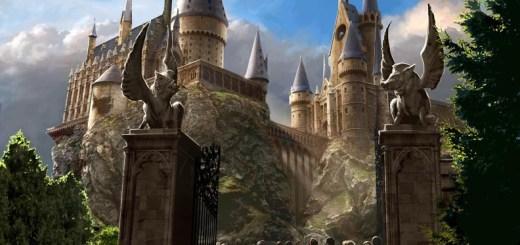 Exterior Hogwarts Parque Temático de Harry Potter