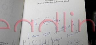 Harry Potter y la Cámara Secreta autografiado