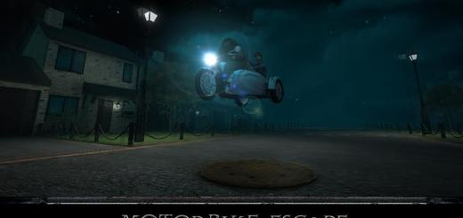 Harry Potter BlogHogwarts Motorbike Escape