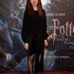 bonnie wright londres harry potter