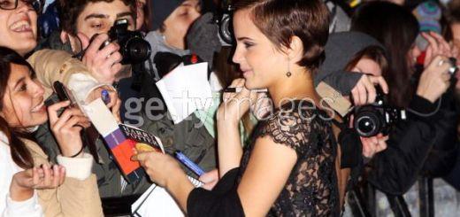 Emma Watson en la Premiere