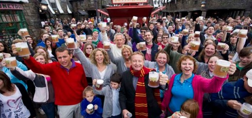 Universal Orlando Resort celebrated the one-millionth Butterbeer sold at The Wizarding World of Harry Potter.
