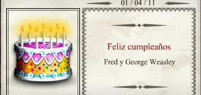 Harry Potter BlogHogwarts Fred y George