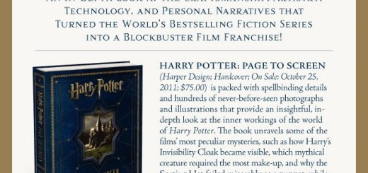 Harry Potter BlogHogwarts Page to Screen