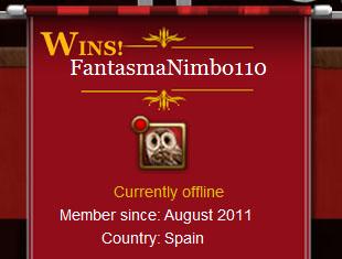 FantasmaNimbo110 gana el CGIH