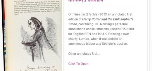 BlogHogwarts Harry Potter JKR Com Snape