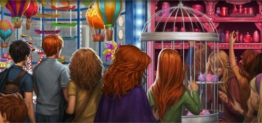 Harry Potter BlogHogwarts El Caldero Chorreante Florean Fortescue