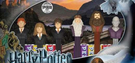 Harry Potter BlogHogwarts Dulces PEZ (1)