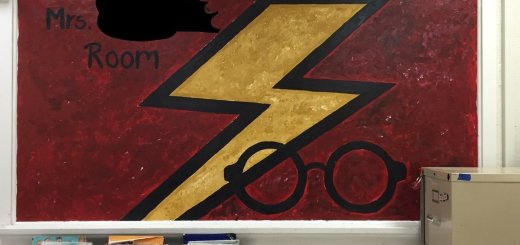 Harry Potter BlogHogwarts Salon Clases Decorado (12)