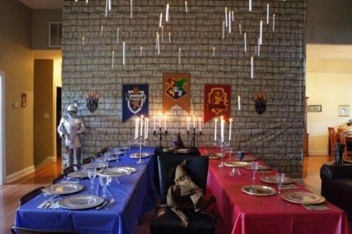 26 ideas para hacer la mejor fiesta de harry potter for Comedor harry potter