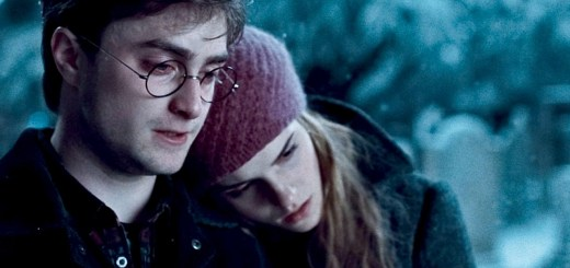 "HP7A-TR2-027 (L-r) DANIEL RADCLIFFE as Harry Potter and EMMA WATSON as Hermione Granger in Warner Bros. Pictures' fantasy adventure ""HARRY POTTER AND THE DEATHLY HALLOWS – PART 1,"" a Warner Bros. Pictures release.    Photo courtesy of Warner Bros. Pictures"