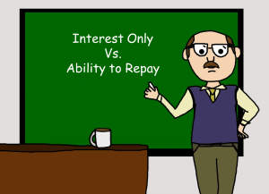Interest Only Ability to repay