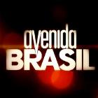 Personagens de Avenida Brasil em pôsteres minimalistas
