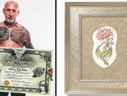 Quando você morrer, sua tatuagem pode ser transformada num quadro para seus entes queridos