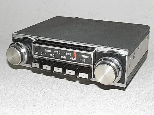 Vintage Car Radio Help! - Off Topic Discussions on theFretBoard