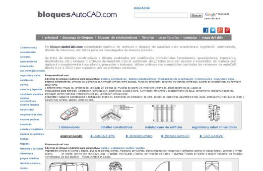 Bloques CAD