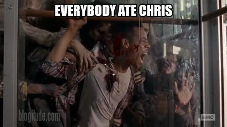The Walking Dead: Everybody Ate Chris