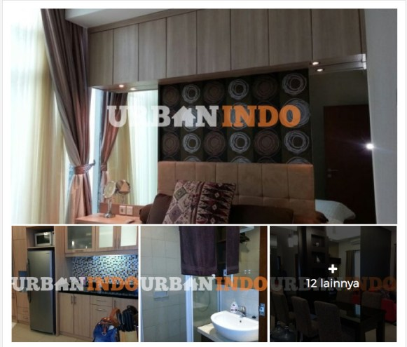 Di Sewakan Apartemen 2BR Thamrin Residences