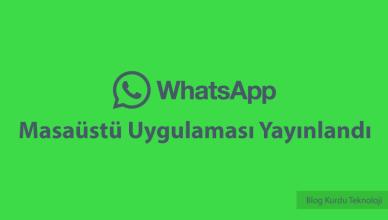 whatsapp-masaustu-uygulamasi-yayinlandi