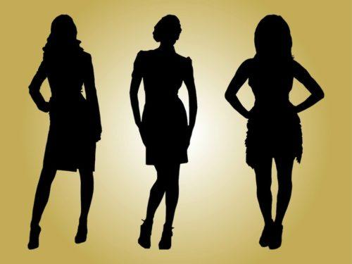 Fashion-Models-Silhouettes