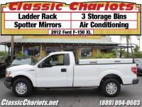 Used Truck Near Me - 2012 Ford F-150 XL with Ladder Rack ...