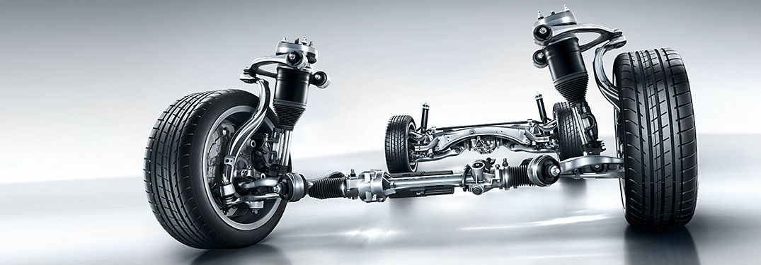 What is a Mercedes-Benz AIRMATIC suspension?