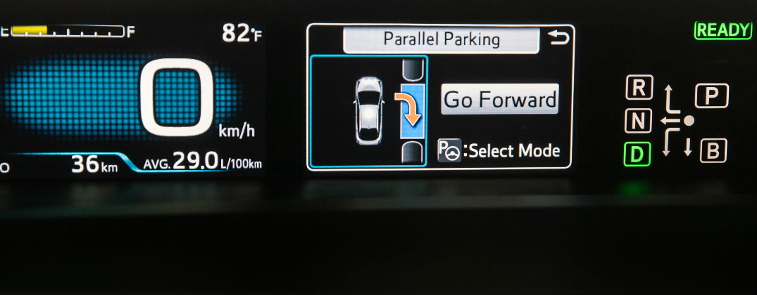 Learn to Use the Toyota Intelligent Park Assist System