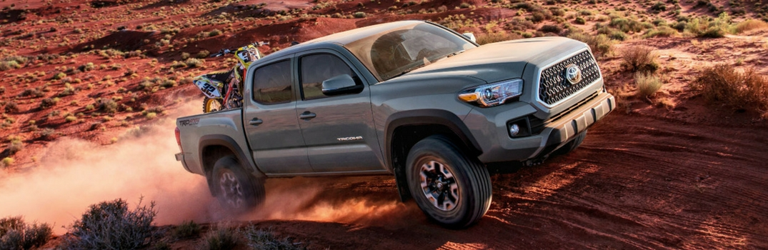 What Are the Differences in 2016 Toyota Tacoma Trim Levels?