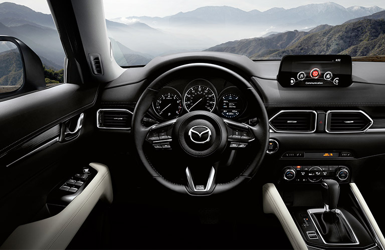 2018 Mazda CX-5 standard and available safety features